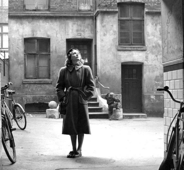 Tove Ditlevsen, ca. 1950, foto af Birthe Melchiors