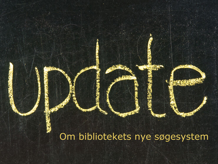 Update om bibliotekets søgesystem
