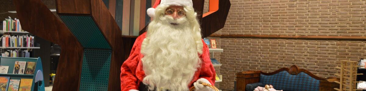 Julemanden på Herlev Bibliotek