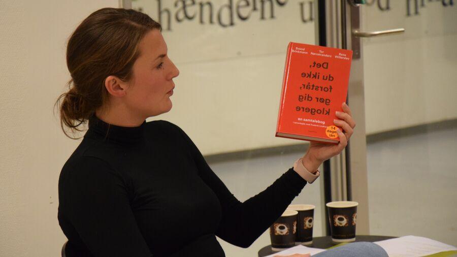 Faglig formidler Louise Haslund Sørensen fortæller om årets bedste fagbøger
