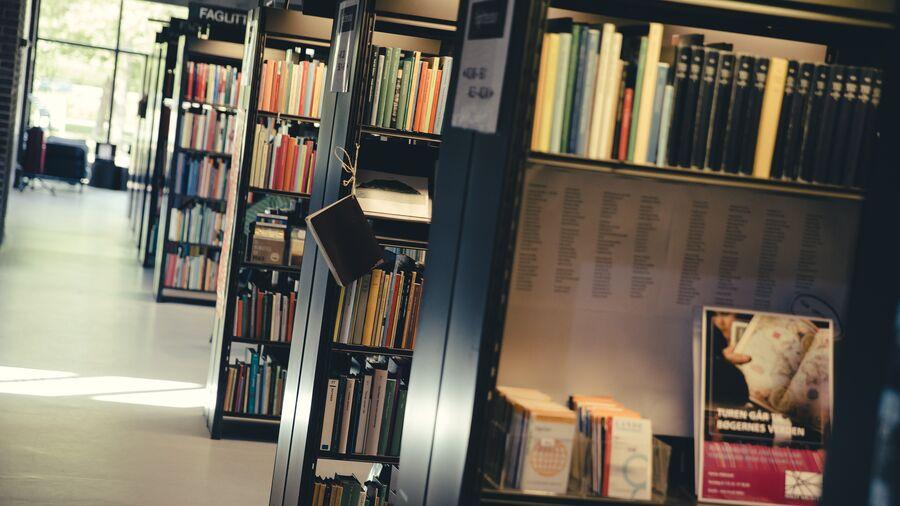bogreoler med fagbøger