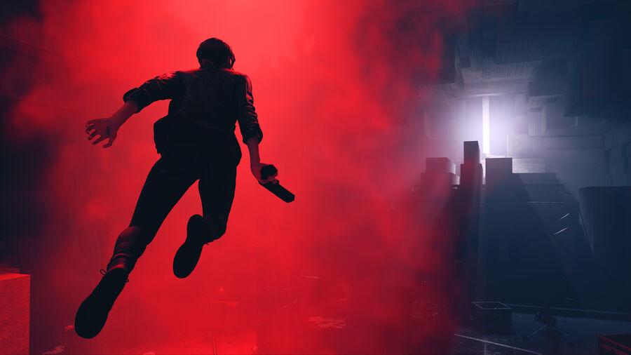 """Playstation 4-spillet """"Control"""" (billede hentet fra www.igdb.com)"""