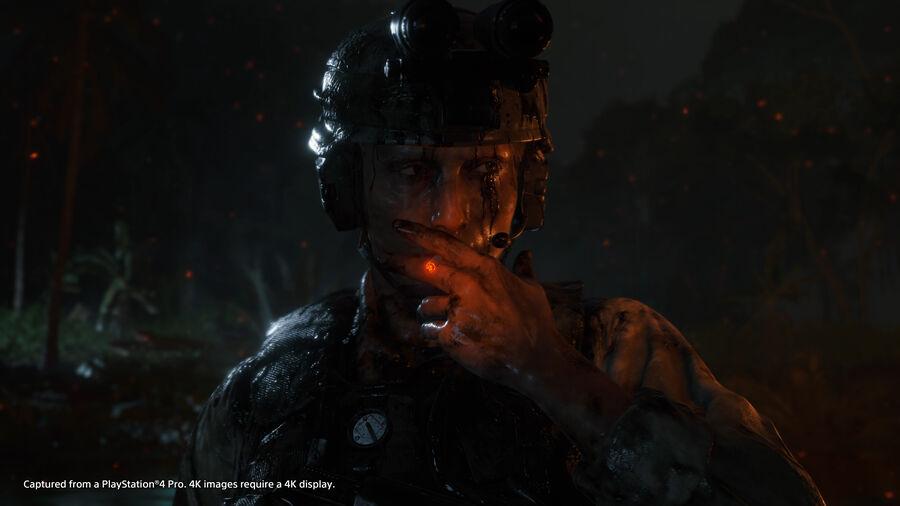 """Mads Mikkelsen som Cliff i spillet """"Death Stranding"""" (billede hentet fra www.igdb.com)"""