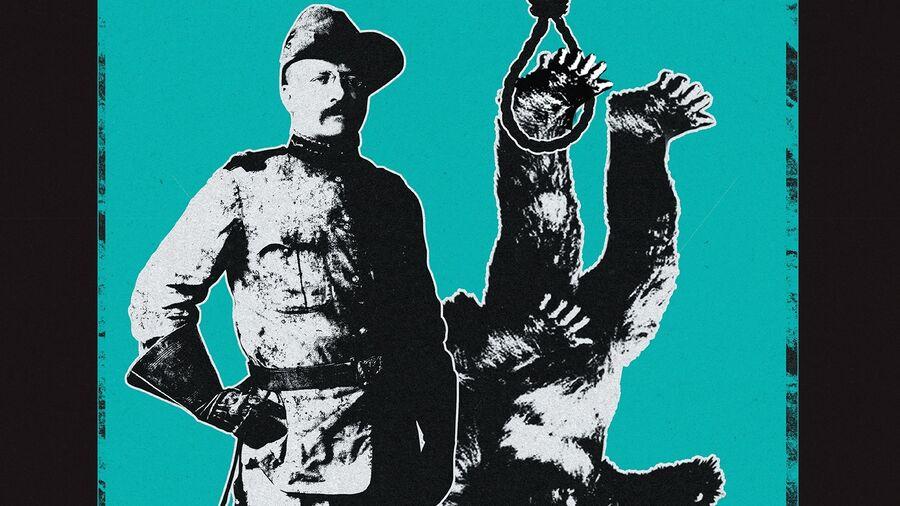 """En slags storvildtjæger og bigfoot i løkke på forsiden af albummet """"Beat Poetry For Survivalists""""? I hvert fald hedder et af numrene på albummet """"The last of the legendary bigfoot hunters""""."""