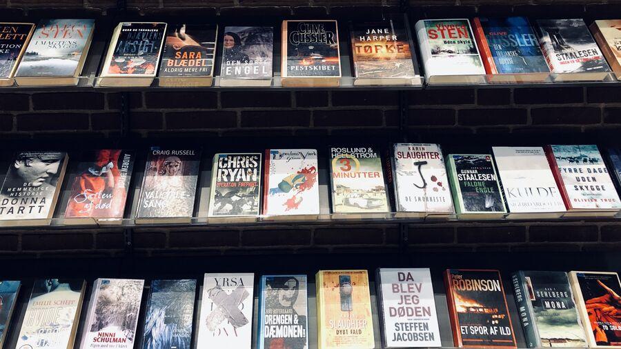 Krimier på endevæg, Herlev Bibliotek