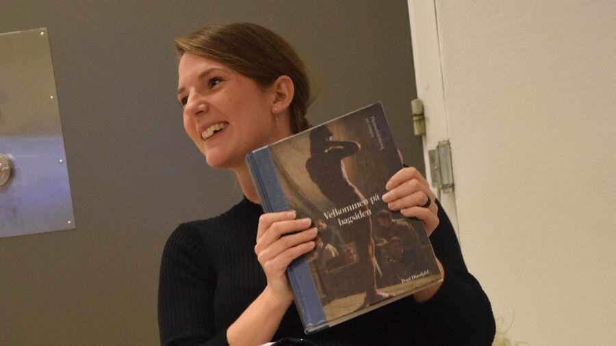Faglig formidler og historiker Louise Haslund Sørensen med bog