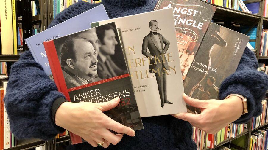 Nominerede bøger til Årets Historiske Bog 2018