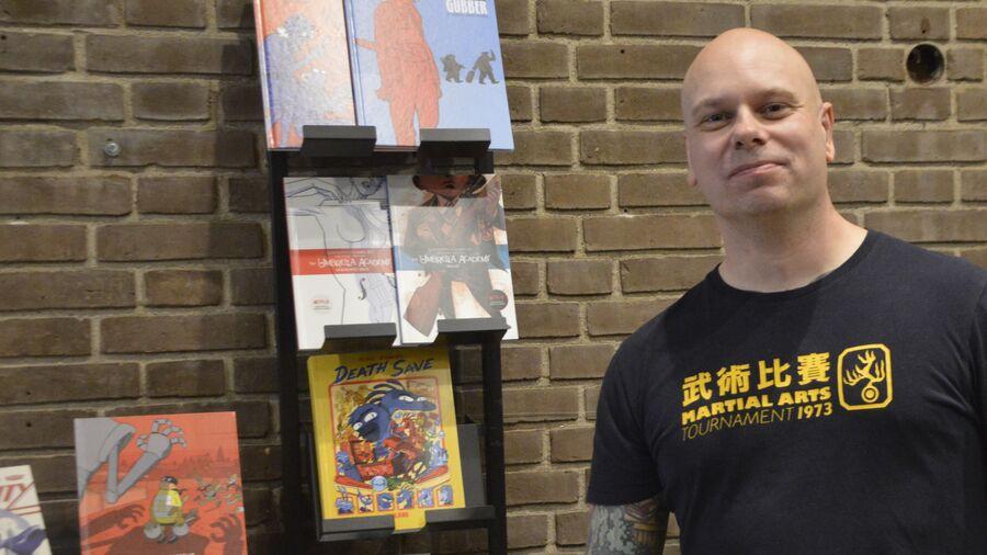 Tegneserieekspert Mads Bluhm