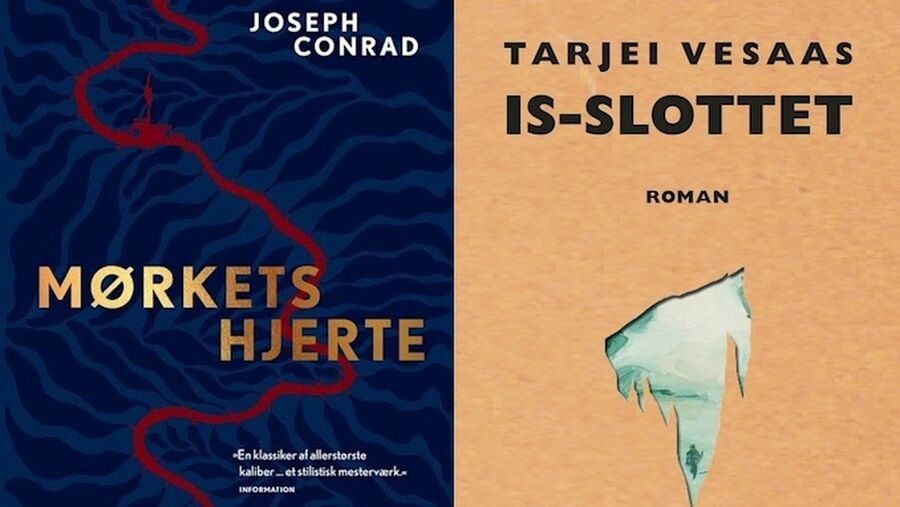 Jospeh Conrad: Mørkets hjerte, 1902 og Tarjei Vesaas: Is-slottet, 1963