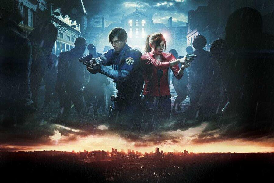 """Playstation 4-spillet """"Resident Evil 2"""" (billede hentet fra www.igdb.com)"""
