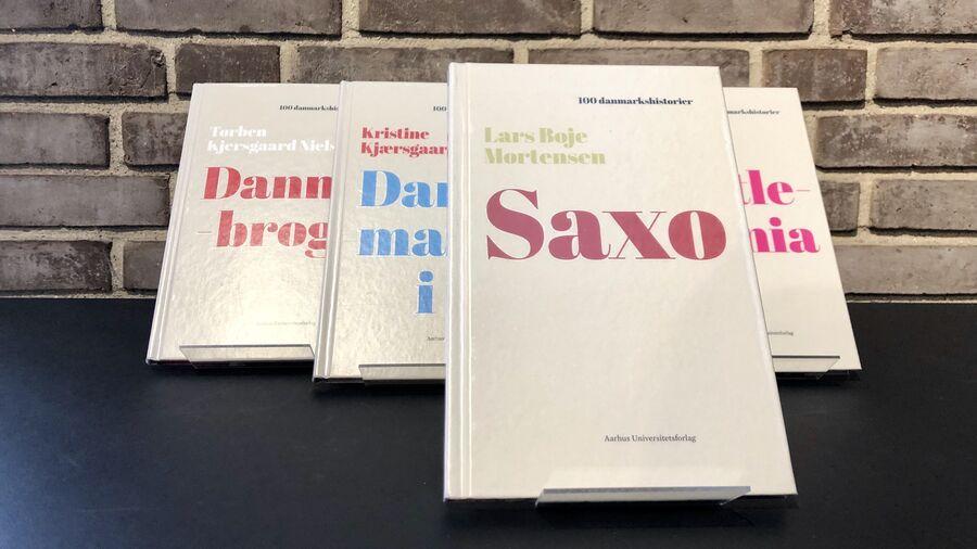 """Bogen om Saxo fra serien """"100 danmarkshistorier"""""""