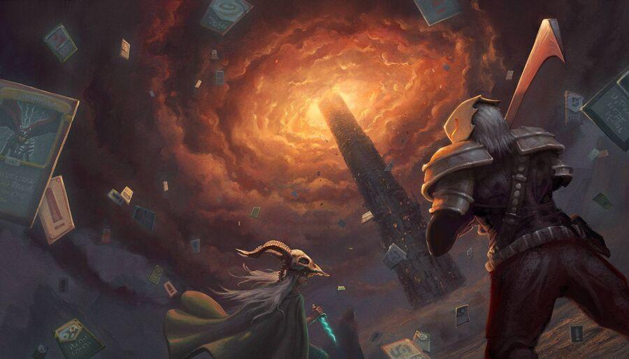 """""""Slay the Spire"""" artwork (billede hentet fra igdb.com)"""