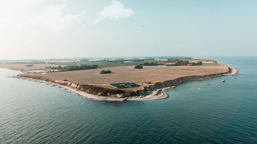 Få lande har så meget kystlinje i forhold til areal som Danmark.