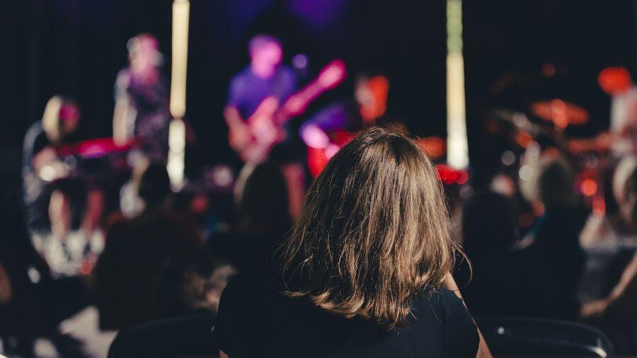 Koncert med livemusik